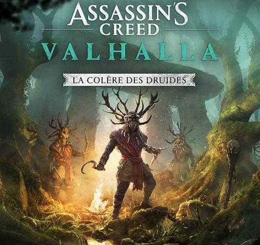 Assassin's creed Valhalla : la colère des druides DLC
